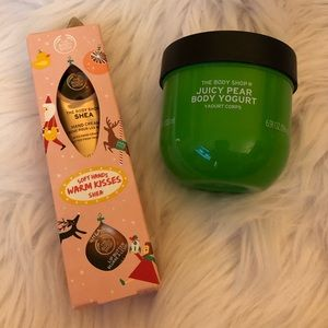 The Body Shop Creams (2) & 1 Lip Butter